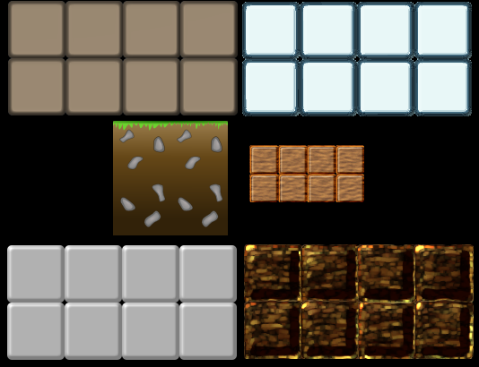 "Free 2D ground ""block"" sprites"