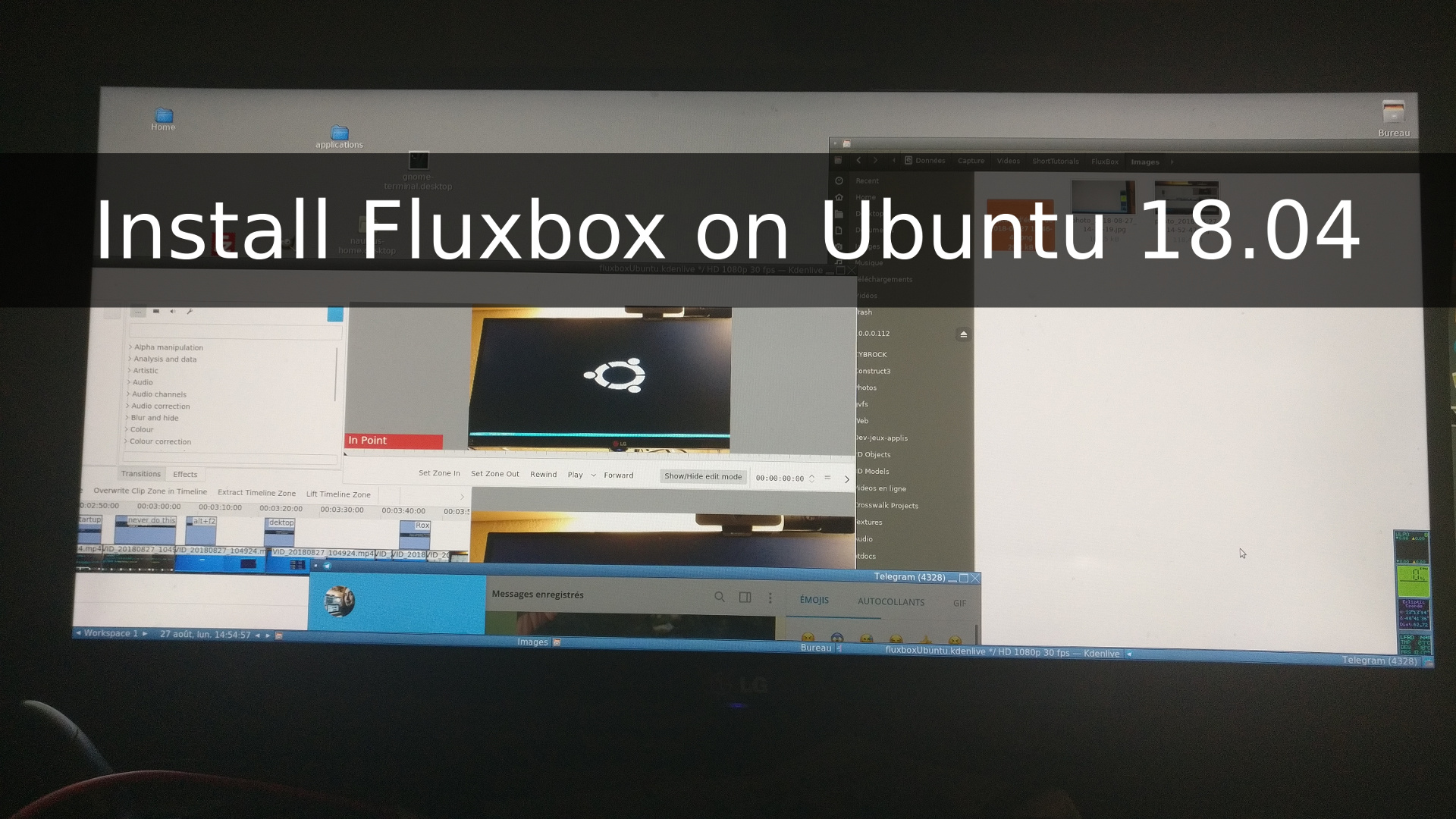 How to install FluxBox on Ubuntu