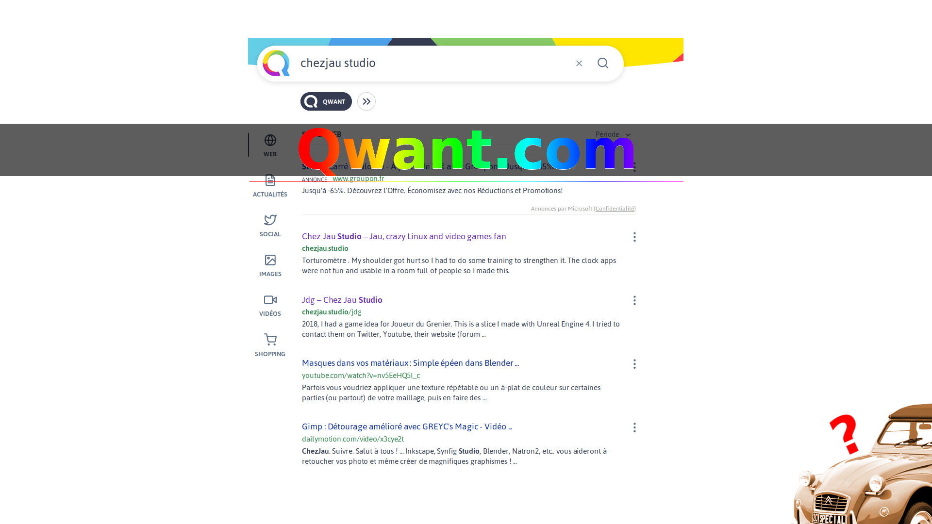 Qwant search engine : powerful AND respectful of your privacy