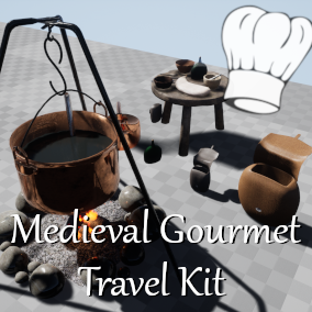 Medieval Gourmet Travel Kit
