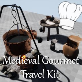 Medieval Gourmet Travel Kit